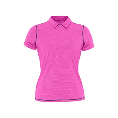 Lija Womens Stripe Warm Up S/Polo