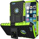 (4,7 Zoll) iphone 6 Hülle, ykooe (TPU Series) iphone 6 Dual Layer Hybrid Handyhülle Drop Resistance Handys Schutz Hülle mit Ständer für iPhone 6 und 6s [4,7 Zoll] Smartphone