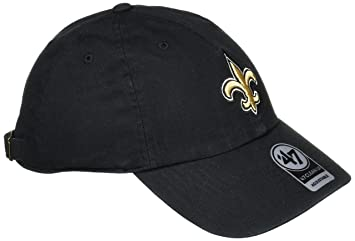 the latest 8d74f 9ce63 ... free shipping nfl new orleans saints 47 clean up adjustable hat black  one size e537b e0259