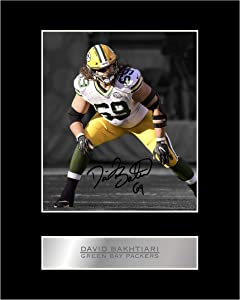 David Bakhtiari Signed Mounted Photo Display #05 Printed Autograph Picture Print