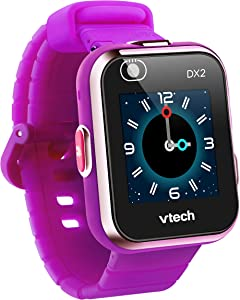 VTech KidiZoom Smartwatch DX2, Purple, Great Gift For Kids, Toddlers, Toy for Boys and Girls, Ages 4, 5, 6, 7, 8, 9