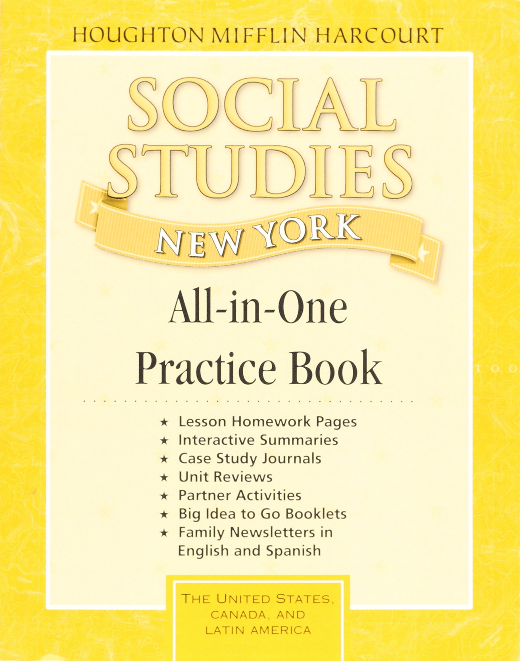 Read Online Houghton Mifflin Harcourt Social Studies: All In One Practice Book Grade 5 ebook