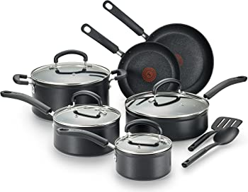 T-fal C561SC Titanium Advanced Nonstick 12-Piece Cookware Set