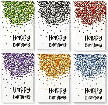 Amazon.com: Cada ocasión Feliz cumpleaños Tarjetas de ...