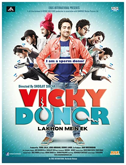 Amazon com: Vicky Donor (2012) (Hindi Movie / Bollywood Film