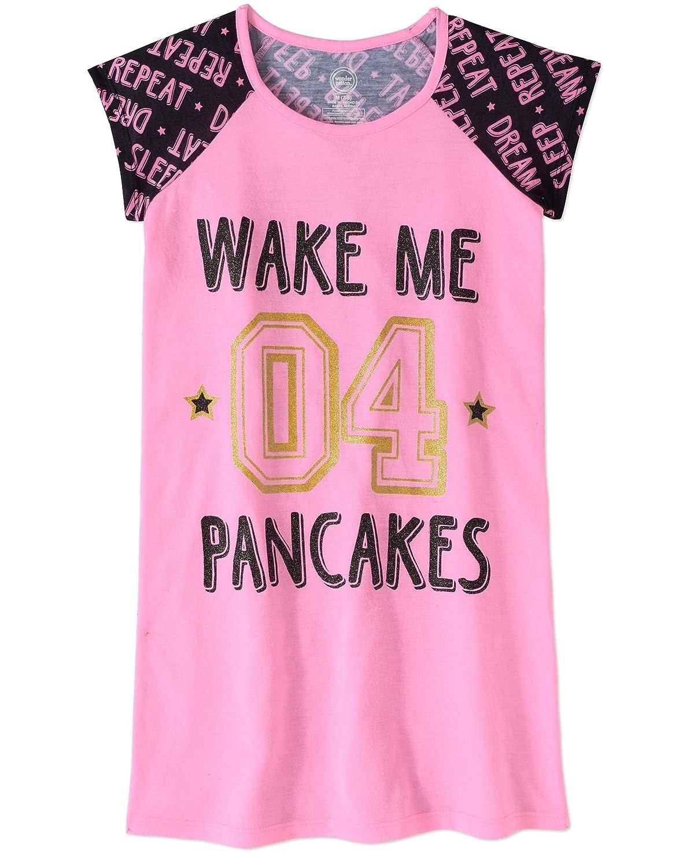 Abalacoco Girls Kids Cotton Nightgown Sleepwear Dress Soft Home Dress Summer Autumn Short Long Sleeve Soft Wear 4-12T