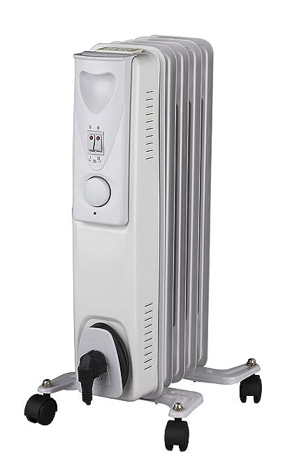 Daewoo 1000W Blanco Radiadores de aceite Calentador