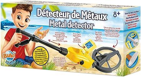 Puedes elaborar un verdadero tesoro con todas las cosas que encuentres con el detector de metales.,F