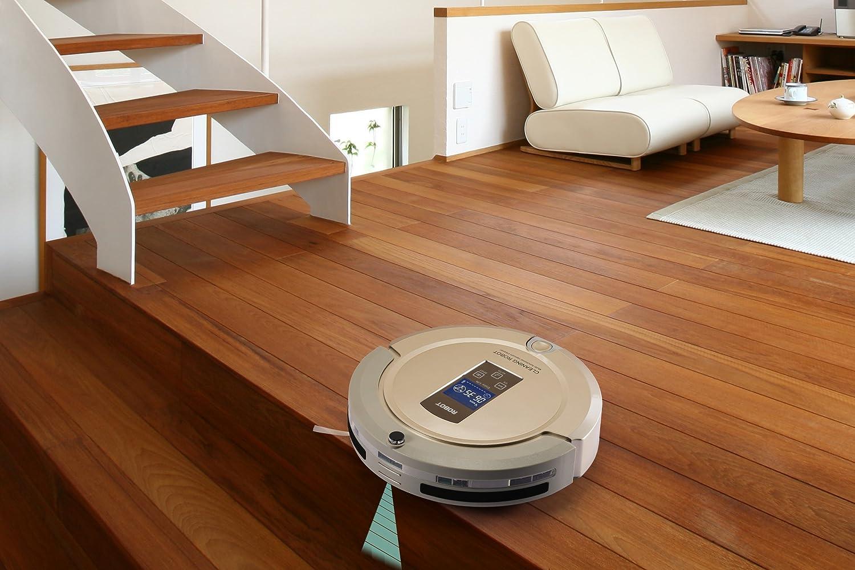 Wisdom Robotic Amtidy A325 Robot aspirador con Recarga automática, Programación a bordo, Multi-modelos de limpieza (Dorado): Amazon.es: Hogar