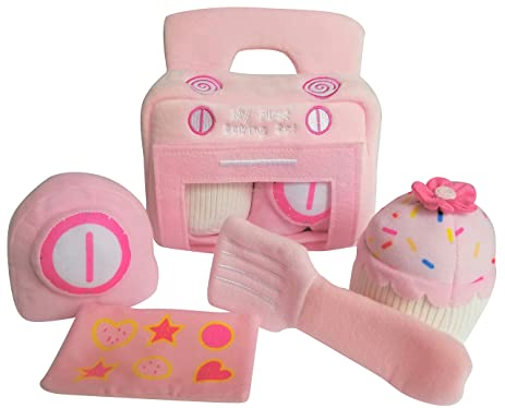 Amazon Com My First Baking Baby Playset Plush Toy Pretend Play