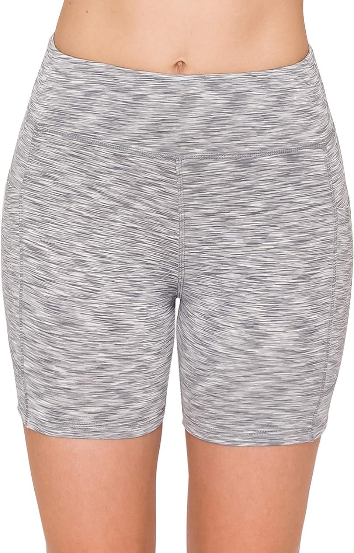 ALWAYS Womens High Waist Yoga Pants Compression Running Workout Activewear Bike Capri Full Leggings