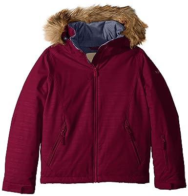 Roxy Niñas ERGTJ03057 Chaqueta aislada - Rojo - 12/L US ...