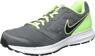 Nike Downshifter 6 - Zapatillas para hombre, Gris / Verde / Blanco, 40: Amazon.es: Zapatos y complementos