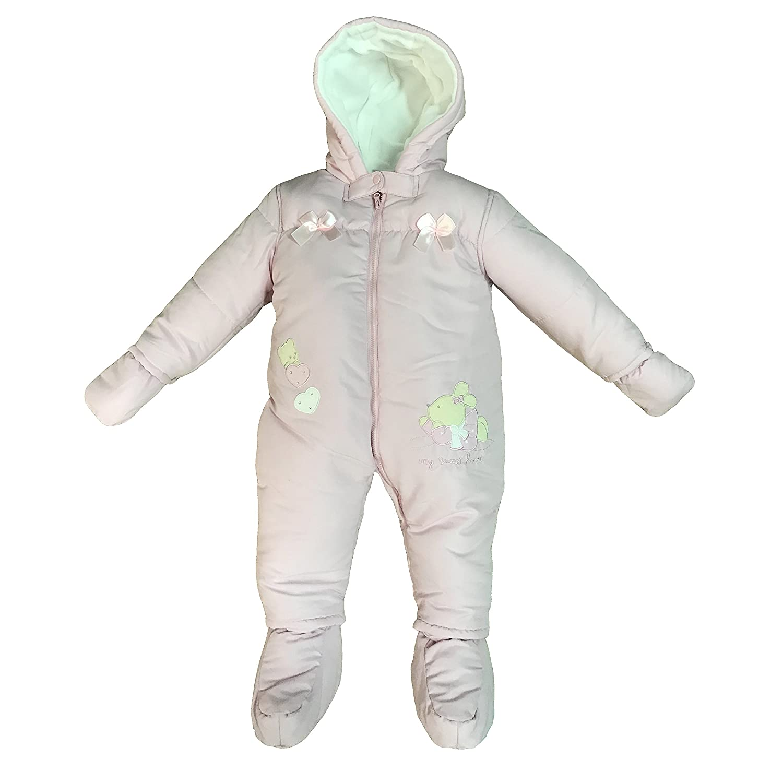 c8639512fe termotuta tuta imbottita per neonata bambina BIDIBIMBO tuta neve art. TT822/ A: Amazon.it: Abbigliamento