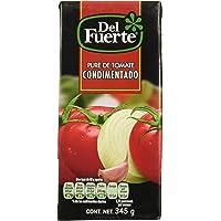 Del Fuerte, Puré de tomate, 345 gramos