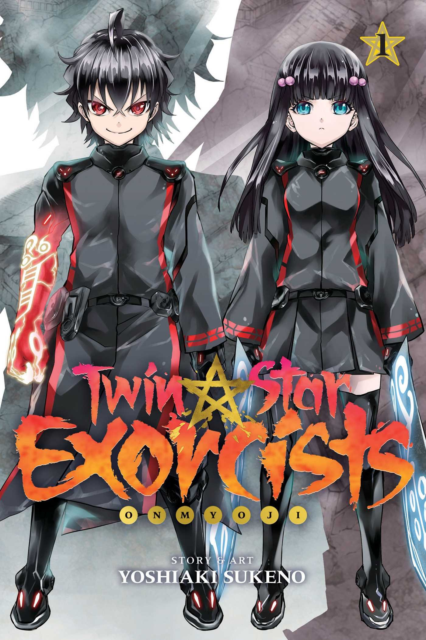 Image result for twin star exorcists volume 1