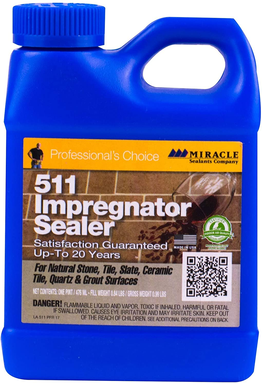 Miracle Sealants 511PT6 511 Impregnator Penetrating Sealers, Clear