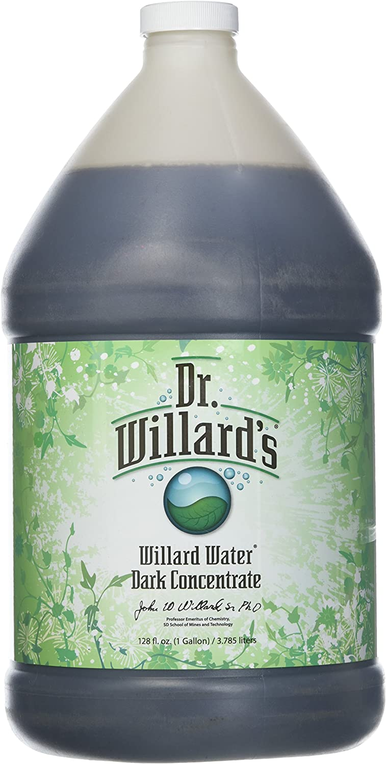Willard Water Dark XXX Multi-Vitamin, 128 Fluid Ounce