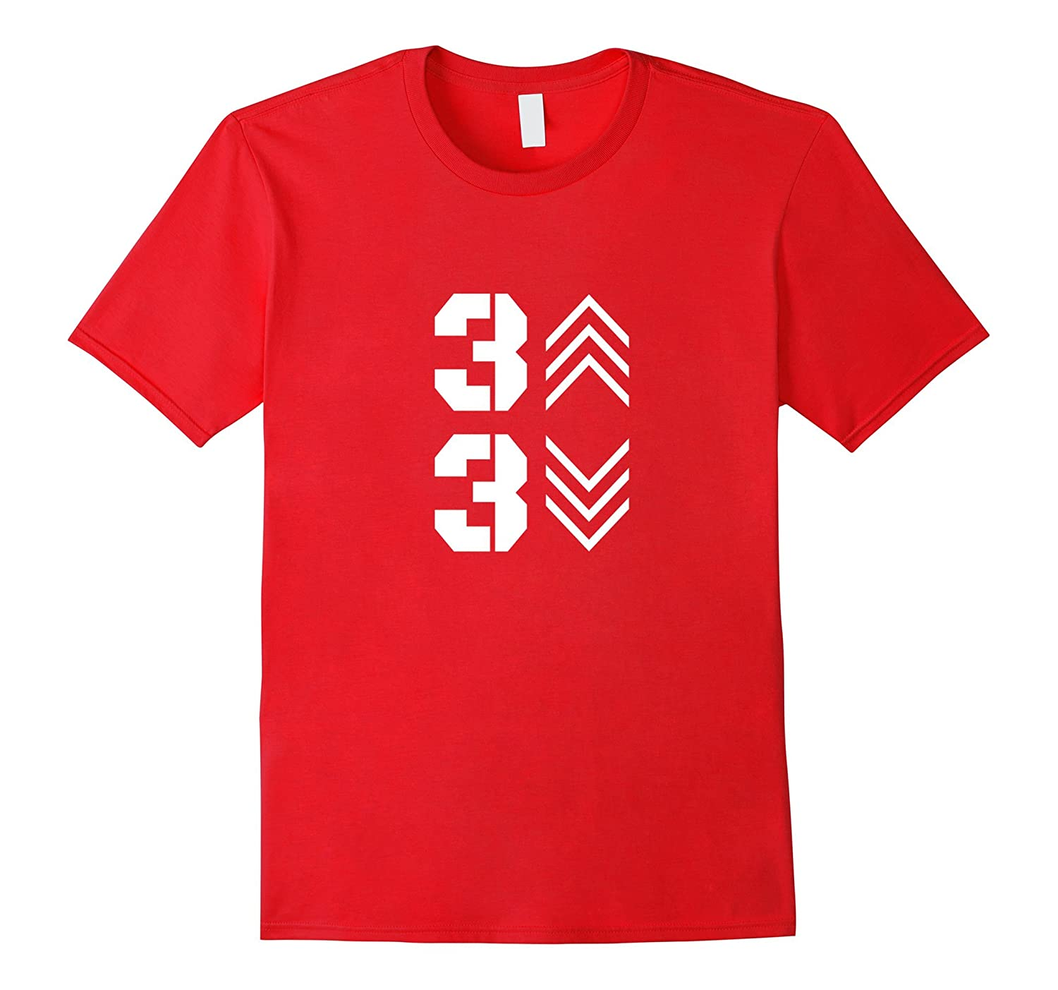 3 Up 3 Down Baseball Graphic T Shirt 2017-CD