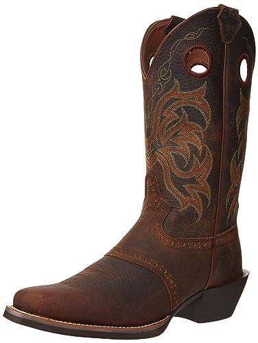 Rawhide Saddle Dark Brands Boots Justin Brown xCerdoBW