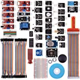 Kuman 44個キット Raspberry Pi用センサー センサーモジュール 38センサーモジュール+ADC0832チップセット+GPIO拡張ボード+ジャンパーワイヤー 電子部品 電作キット 実験用 Raspberry Pi 3 2 Model B B+ A A+に適用 K47