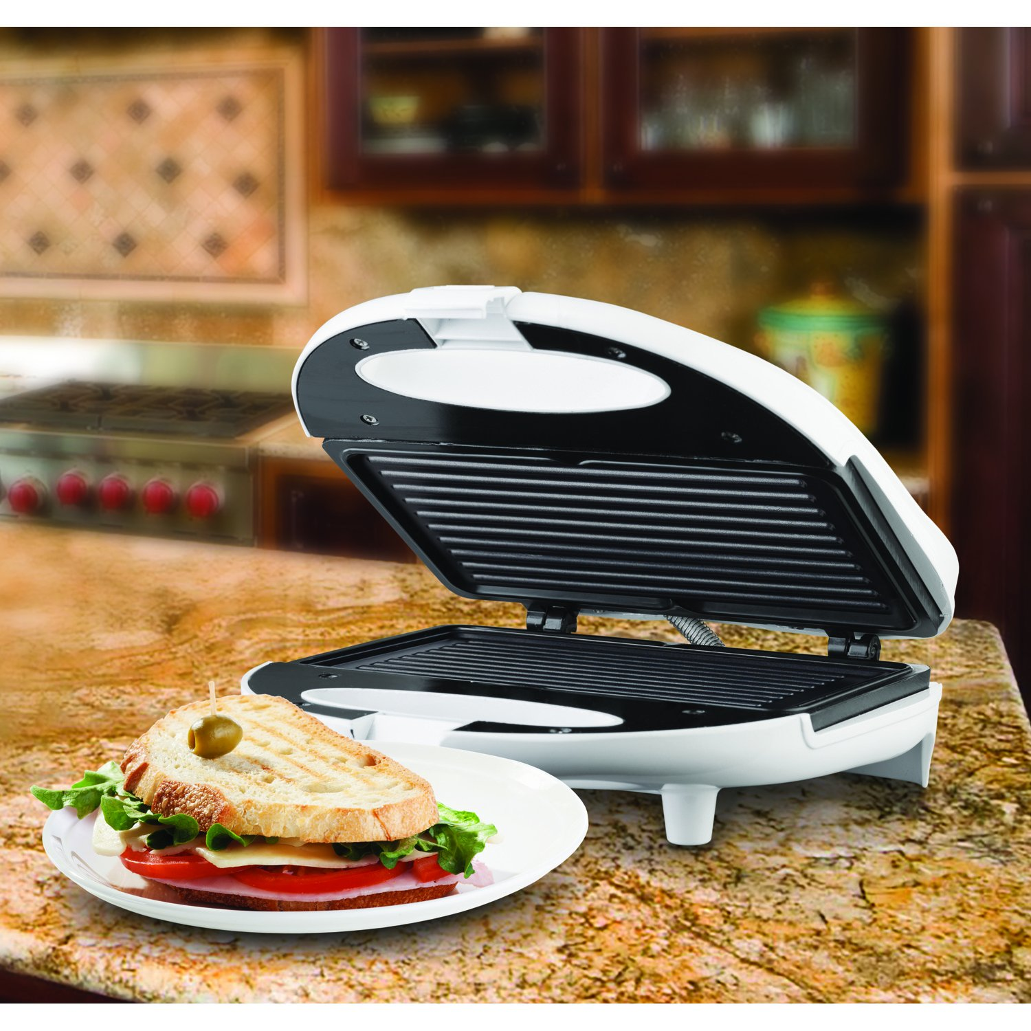 Brentwood TS-245 Non-Stick Panini Maker by Brentwood (Image #3)