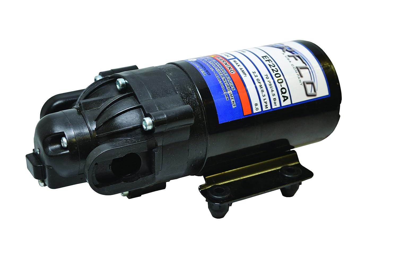 Everflo EF2200-QA-BOX 2.2GPM 12V Diaphragm Pump-Quick Attach Port