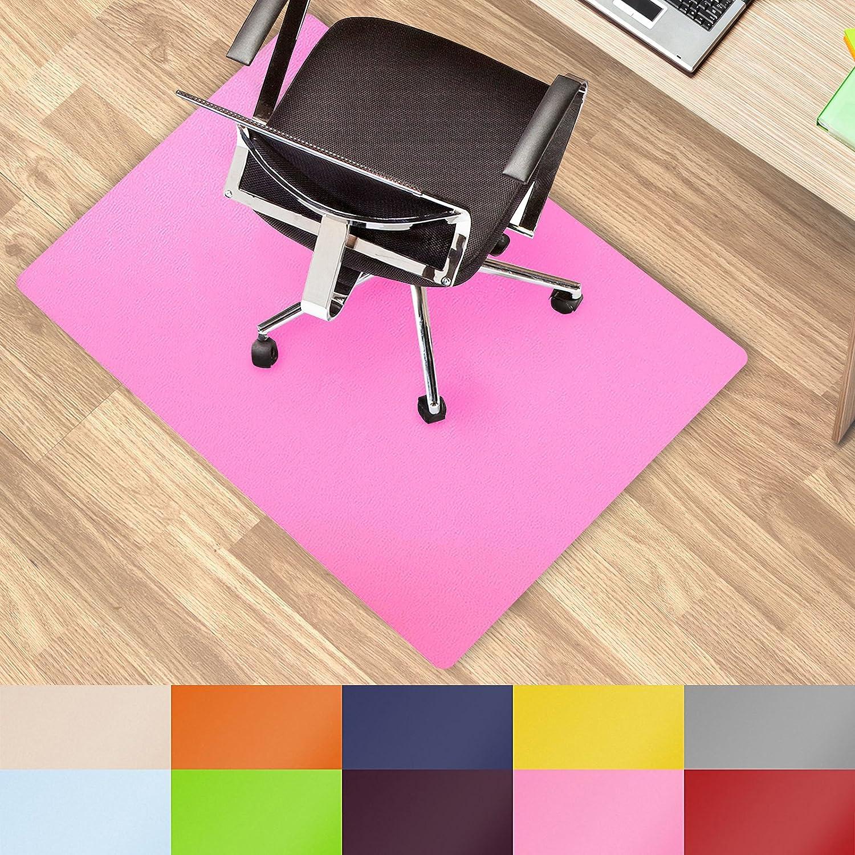 Office Marshal® alfombrillas de colores para usar debajo de la silla multiusos para la protección del suelo de la oficina – Tamaño y color seleccionable, ...
