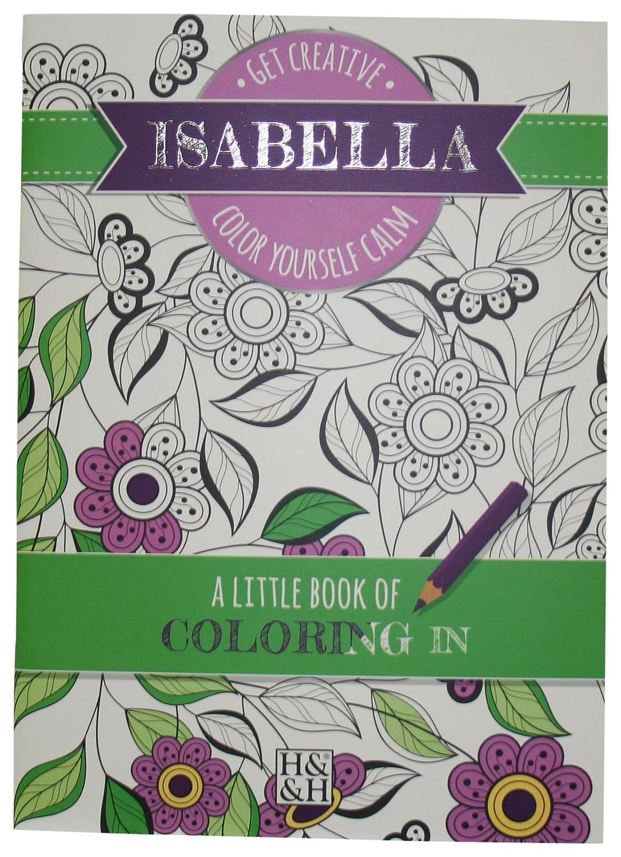Coloring Books Isabella Drawing Book John Hinde Gifts 203000228