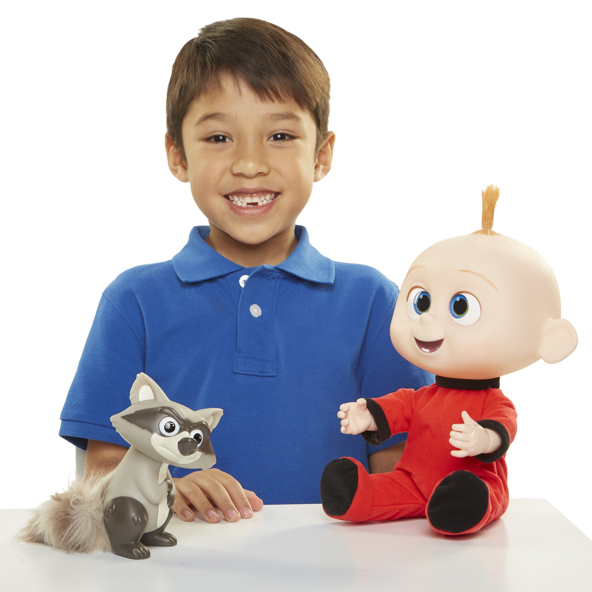 The Incredibles 2 Jack-Jack Plush-Figure Features Lights & Sounds and comes with Raccoon Toy by The Incredibles 2 (Image #12)