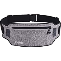 EXski Running Waist Pack Bum Bag Cycling Jogging Sports Waist Belt Bag Pouch for iPhone X/ 8 Plus Women Men