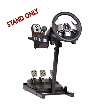 The Ultimate Steering Wheel Stand In Black Suitable For Logitech