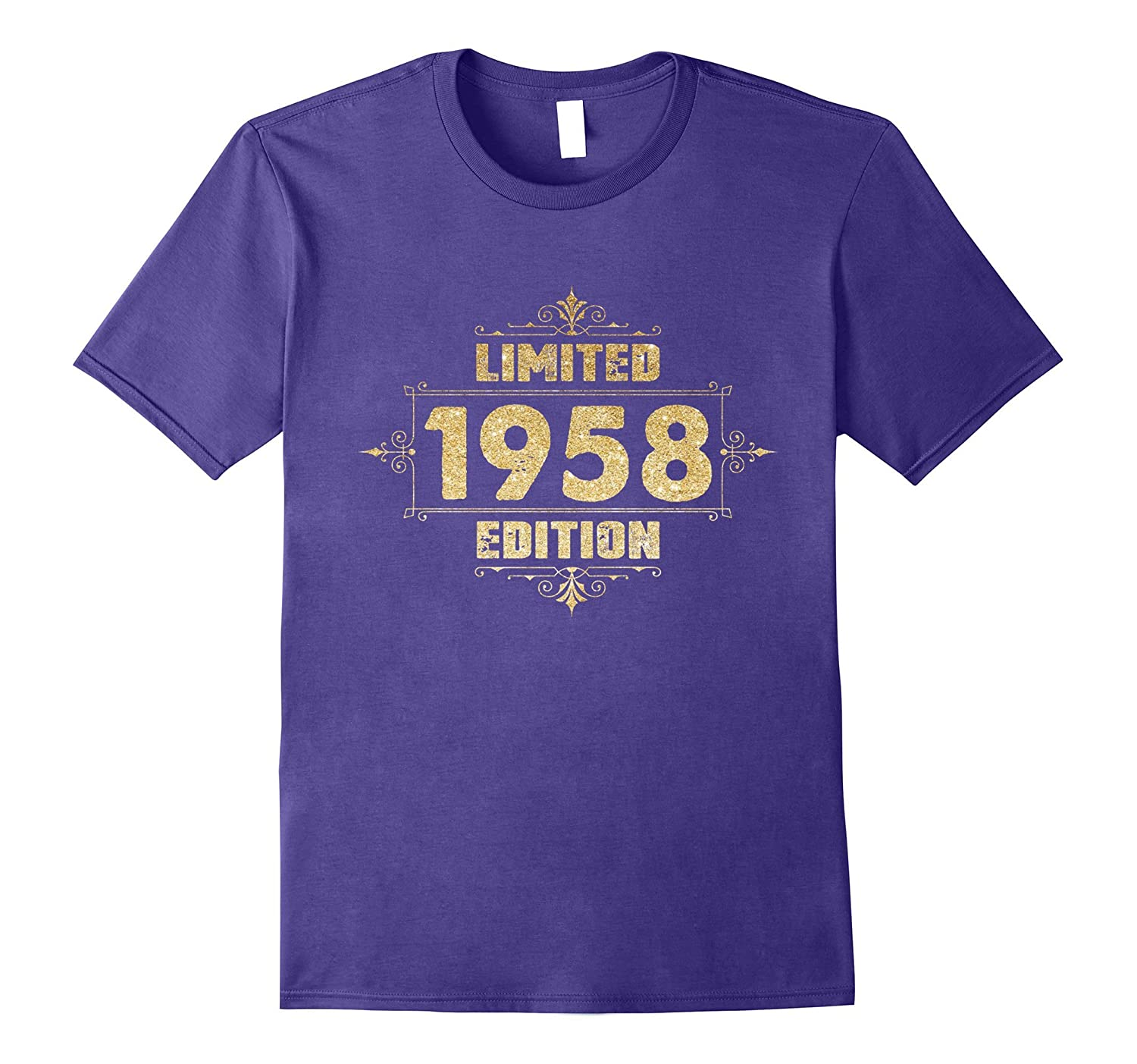1958 59 years old 59th B-day Limited Birthday Gift Shirt-Art