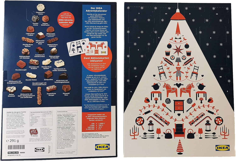 Ikea Adventskalender mit 2 Aktionskarten Wert mindestens 10 Euro