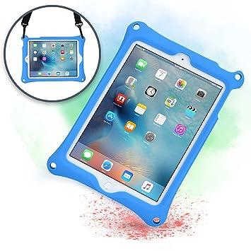 Funda para Apple iPad 6, iPad 5, iPad Air 1, [Funda Resistente de Mano con Correa] Cooper Bounce Strap Funda Todo en uno con Soporte Ajustable, a ...