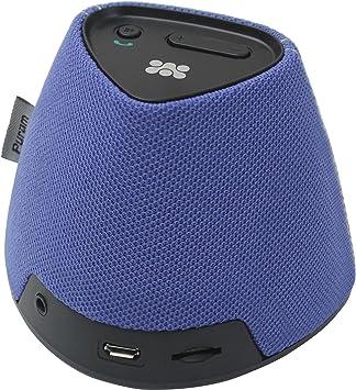 Ersax PYRAM.Blue Mono 2W Negro, Azul Altavoz portátil - Altavoces portátiles (Mono, Inalámbrico y alámbrico, Batería, USB, 90-15000 Hz, Bluetooth/3.5 mm, Mobile Phone/Smartphone): Amazon.es: Electrónica