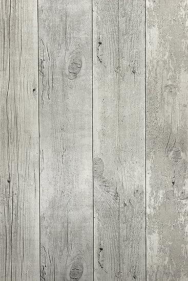 Vlies Tapete Antik Holz Rustikal Verwittert Creme Grau Vertafelung 68615 Amazon De Baumarkt