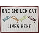 PetRageous Designed Tapestry Placemat for Pet