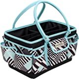 Everything Mary Deluxe Papercraft Organizer | Bin for Scissors, Pens, Pencils, and Craft Materials, | Storage Tote for Office, Home, and Craft Supplies