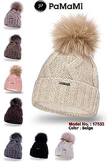 PaMaMi Ladies Thermal Winter Hat for Women Warm Beanie Universal Size  17506  3 c1075ecd7ff