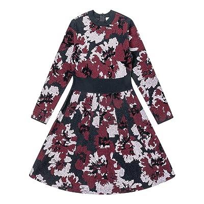 Adory Sweety Women's Long Sleeve Crew Neck Slim Knit Sweater Bodycon Midi Dress at Amazon Women's Clothing store