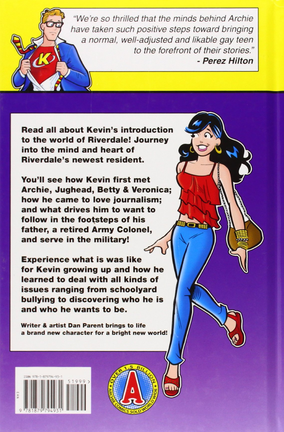 Kevin Keller: Amazon co uk: Dan Parent: Books