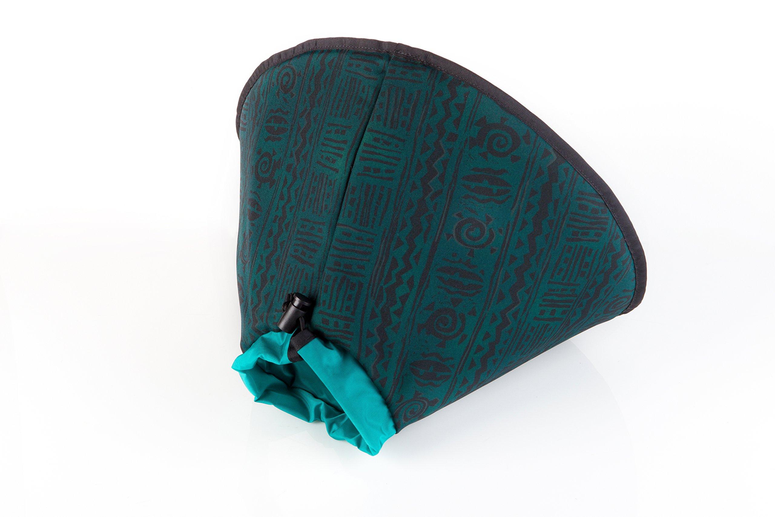 World's Best E-Collar XX-Lg, Indian Green, 35cm