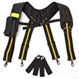 Padded Suspenders |Tool Belt Suspenders with