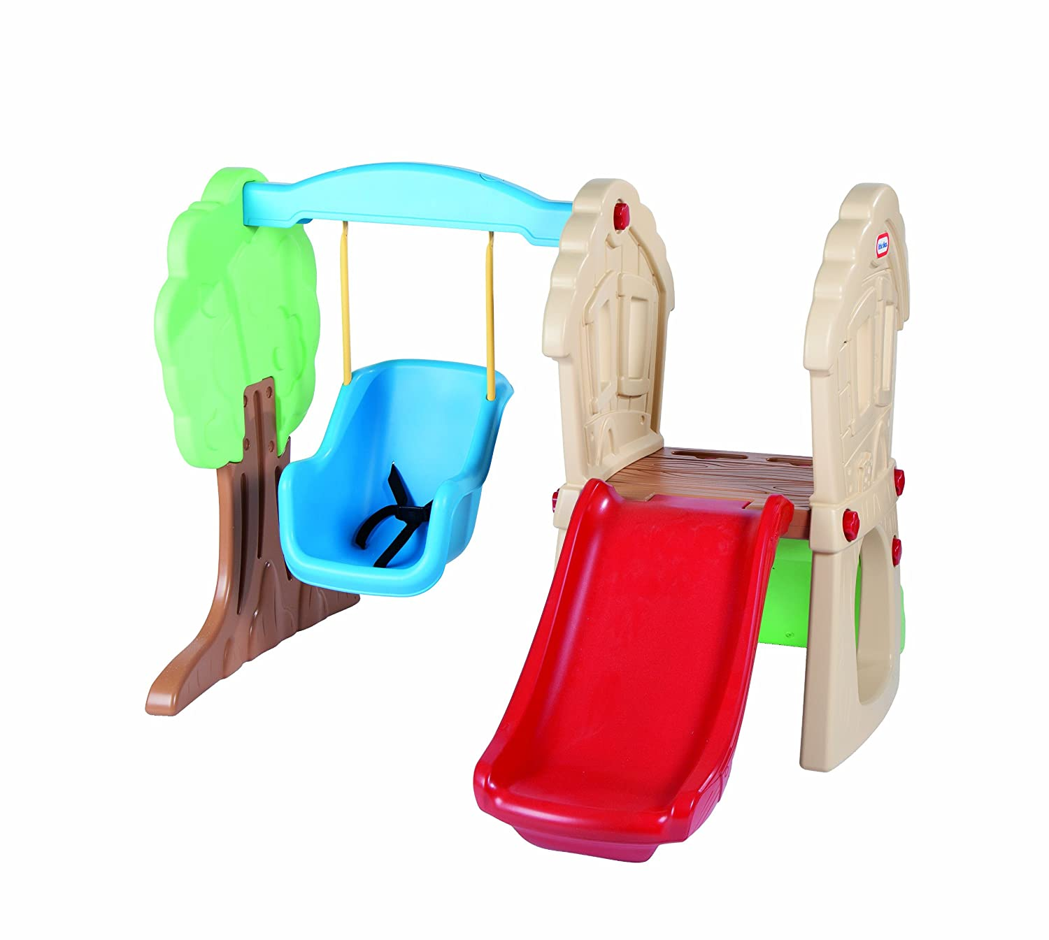 amazon com little tikes hide and seek climber and swing toys u0026 games