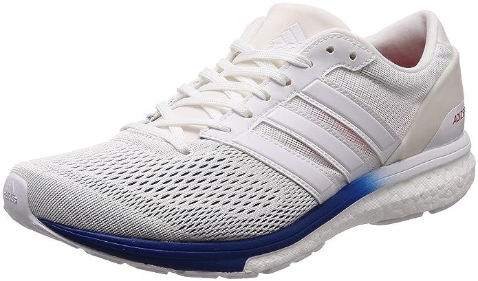 100% authentic 19ca4 eb9b9 Adidas Adizero Boston 6 Aktiv, Zapatillas de Deporte Unisex niño, Azul  (MaruniFtwblaRoalre 000), 38 EU Amazon.es Zapatos y complementos