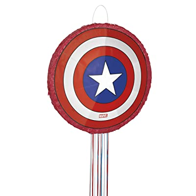 Captain America Pinata, Pull String: Toys & Games