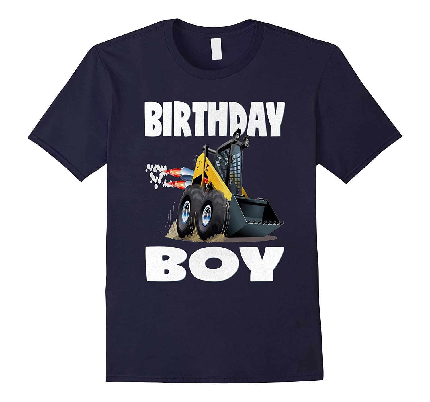 Birthday Boy Monster Truck Vintage Work Trucks Bday T-Shirt-TD