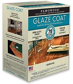 FamoWood 5050110 Glaze Coat Kit   Gallon Clear