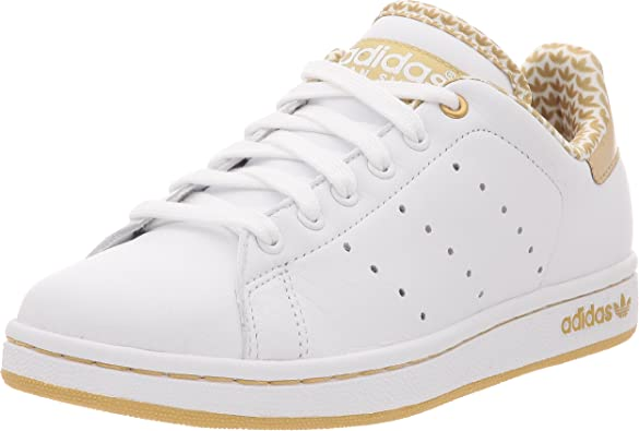 adidas Stan Smith 2 W, Basket mode femme - blanc/blanc/or ...
